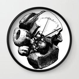 Lumps of the Twelvetide: Baby Wall Clock