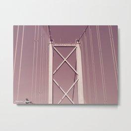 Forth Road Bridge Metal Print