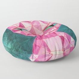 Crystal Kitty - Painting Floor Pillow