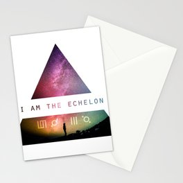 I am the Echelon - 30 Seconds to Mars Stationery Cards