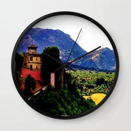 Ronda Villa  Wall Clock