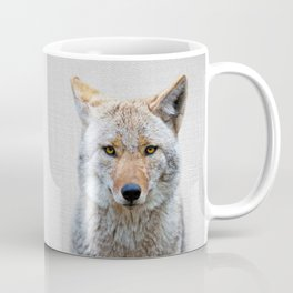 Coyote - Colorful Coffee Mug