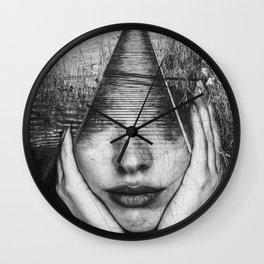 Portrait Tas01 Wall Clock