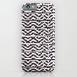 Triangle Print iPhone Case