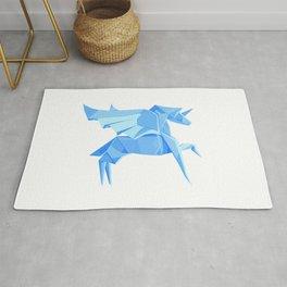 Origami Pegasus Rug