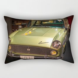 Old Vintage Car Rectangular Pillow