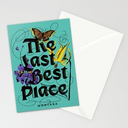 Montana: The Last Best Place Stationery Cards