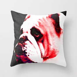 Southern Dawg By Sharon Cummings Throw Pillow