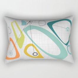 Mid Century Modern Art 01 Rectangular Pillow