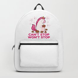 Can't Stop Won't Stop | Greedy Unicorn Backpack