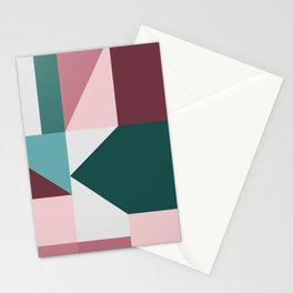 Modern Geometric 62 Stationery Cards