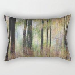 Autumnal Movement Rectangular Pillow