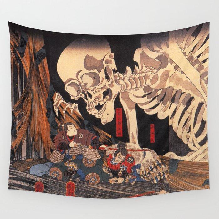 Takiyasha the Witch and the Skeleton Spectre, by Utagawa Kuniyoshi Wandbehang