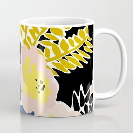 More design for a happy life - with black Coffee Mug