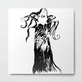 Madame Octopus Metal Print