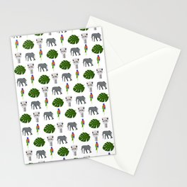 Jungle pattern Stationery Cards