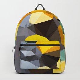 lemonade abstract geometrical art Backpack