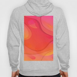 Colorful Pink Abstract Art Design Hoody
