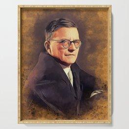Dmitri Shostakovich, Music Legend Serving Tray