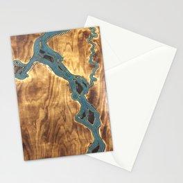 Epoxy River Tables - Bangladesh #3 Stationery Cards