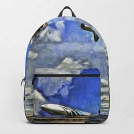Airliner Vincent Van Gogh Backpack