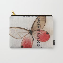 Butterfly post Carry-All Pouch