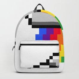 Rainbow in pixels Backpack