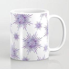 Symmetrical Shapes - Purple Burst Coffee Mug