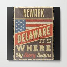 Newark Delaware Metal Print