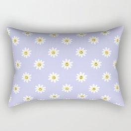 Trippy Daisy Rectangular Pillow