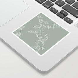 Song Birds on a Wire  Sticker