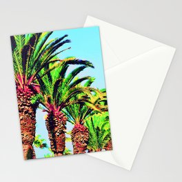palmiers (Morocco) Stationery Cards