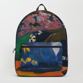 """Paul Gauguin """"Te Aa No Areois (The Seed of the Areoi)"""" Backpack"""