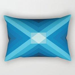 JUEGO DE AZULES Rectangular Pillow