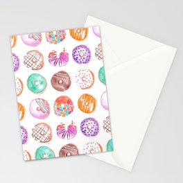 I Eat Donuts, Man-Orangey Stationery Cards
