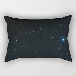 "Hubble Space Telescope - Hubble captures a ""five-star"" rated gravitational lens (2006) Rectangular Pillow"