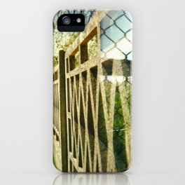 Two Fences iPhone Case