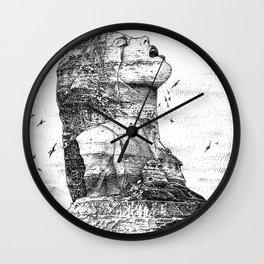 asc 757 - La nostalgie est une île (The remains) Wall Clock