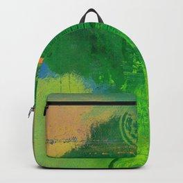 Green Sunrise Backpack