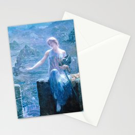 Edward Robert Hughes - The Valkyrie's Vigil - Digital Remastered Edition Stationery Cards