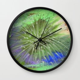 Sparkles of light Wall Clock