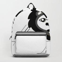 Geometric lion Backpack