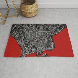Denpasar City Map of Indonesia - Oriental Rug
