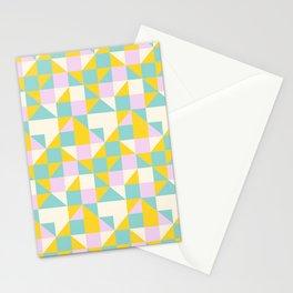 triangular geometric shape Stationery Cards