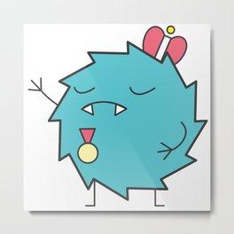 Cute Little Monster - The King Metal Print
