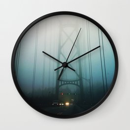 Lions Gate Bridge Wall Clock
