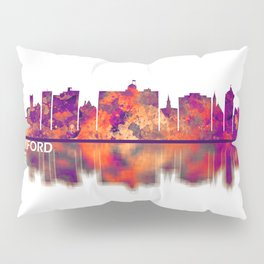 Rockford Illinois Skyline Pillow Sham