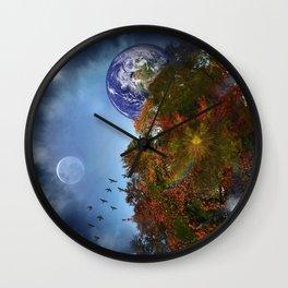 The Sky is Falling Wall Clock