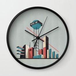 Save me city Wall Clock