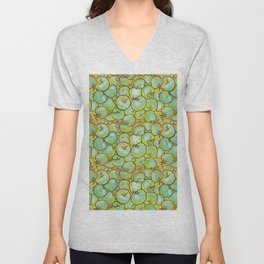 Green Apples Unisex V-Neck